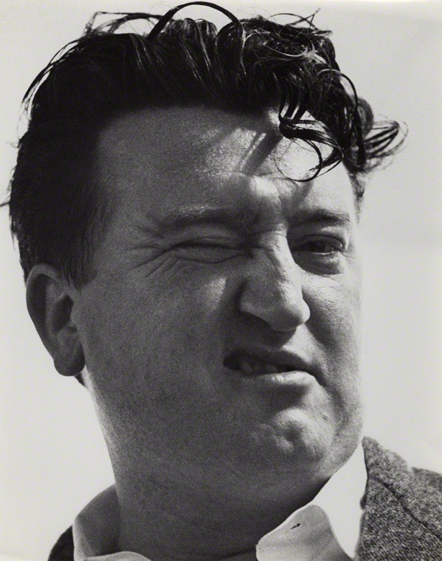 NPG x36004; Brendan Behan by Peter Keen